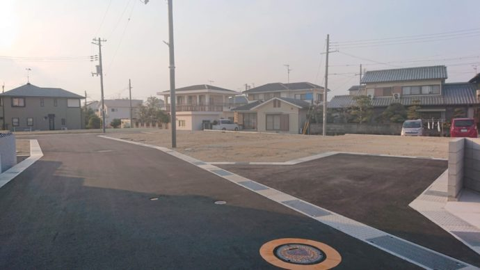 ★黒川町新規開発団地、販売開始★